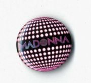 CONFESSIONS ON A DANCEFLOOR - PROMO BUTTON PIN BADGE